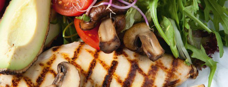 Kipsalade van Fajah Lourens Killerbody dieet - Gezond aan tafel - recept
