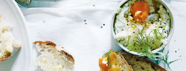 Gezond aan tafel - Recept - Griekse zachtgekookte eieren