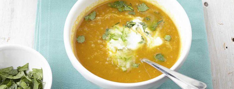 Indiase wortelsoep - Gezond aan tafel - recept