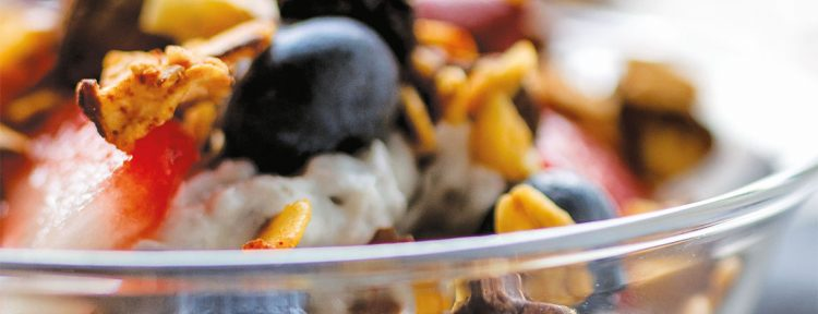 Kokos parfait - Gezond aan tafel - recept