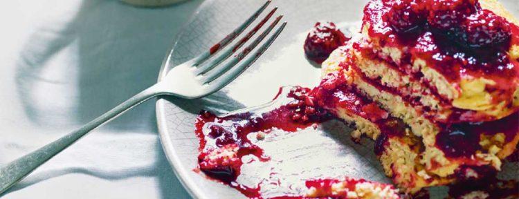 Pannenkoeken van pastinaak en gierst - Gezond aan tafel - recept