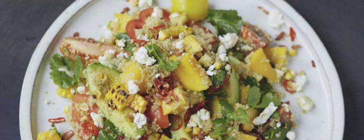 Quinoasalade van Jamie Oliver - Gezond aan tafel - recept