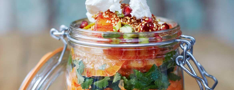 Couscoussalade granaatappel van Jamie Oliver