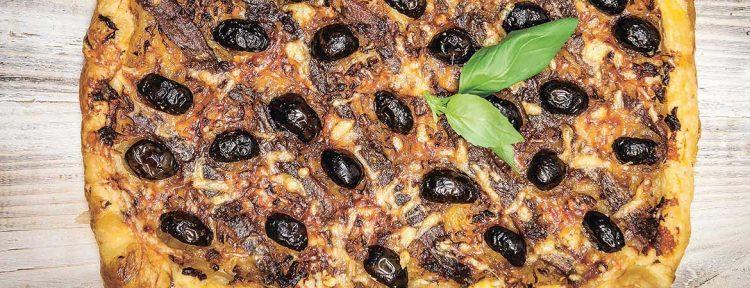 Ansjovis taartje pissaladière - Gezond aan tafel - recept