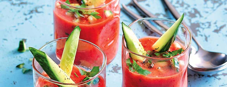 Paleo soep gazpacho