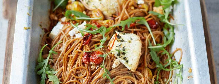 Speltspaghetti met ricotta van Jamie Oliver - Gezond aan tafel - recept