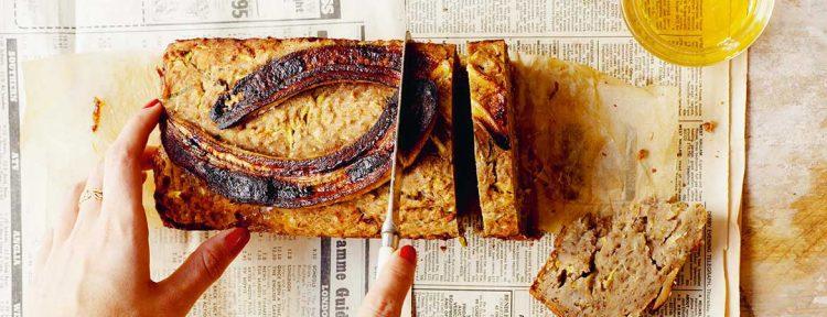 Courgette bananen brood - Gezond aan tafel - recept