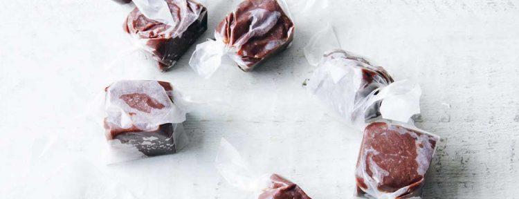Suikervrije fudge zelf maken - Gezond aan tafel - recept