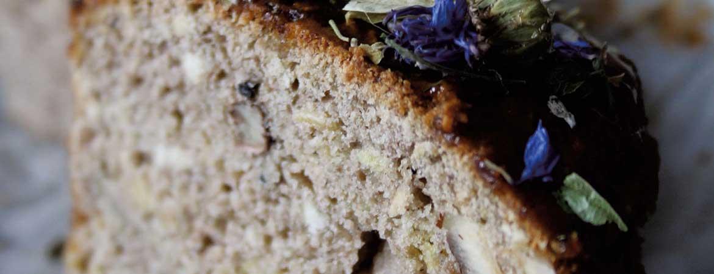 Glutenvrije cake van boekweit en kastanjemeel