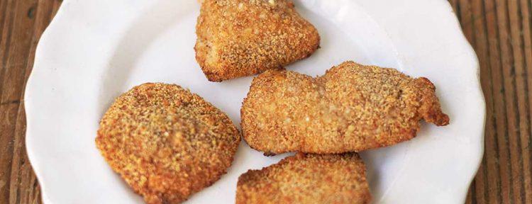 Gezonde kipnuggets van Jamie Oliver - Gezond aan tafel - recept