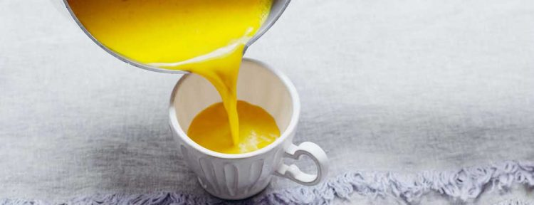 Kurkuma drankje - Gezond aan tafel - recept