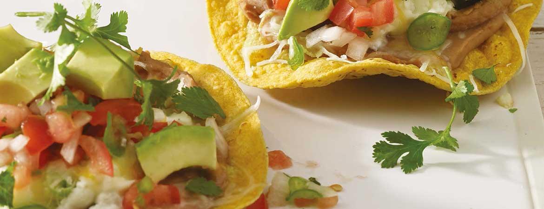 Mexicaanse ontbijt tostada