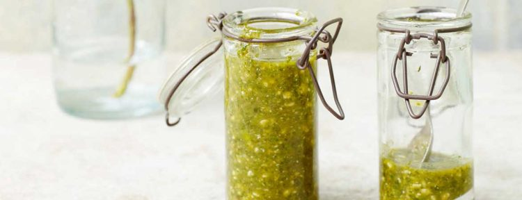 Pesto munt cashewnoten - Gezond aan tafel - recept