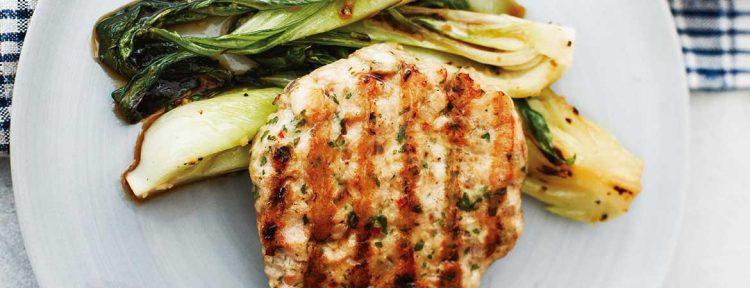 Thaise kip burgers - Gezond aan tafel - recept