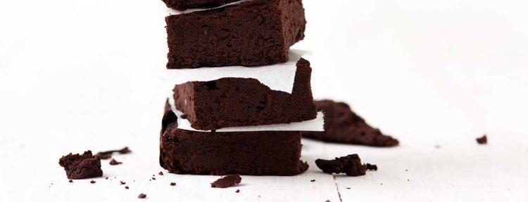 Brownies van zwarte bonen - Gezond aan tafel - recept