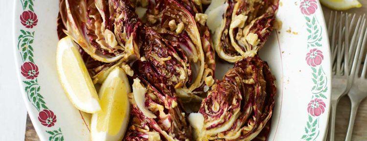 Gegrilde radicchio - Gezond aan tafel - recept
