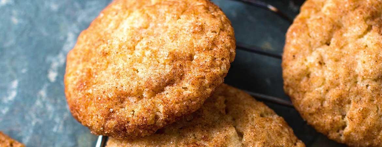 Vanille koekjes met kaneel (snickerdoodles)