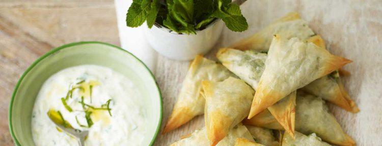 Spanakopita met tzatziki - Gezond aan tafel - recept