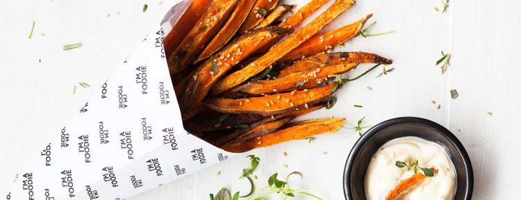 Zoete aardappel friet - Gezond aan tafel - recept