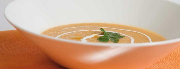 Bloemkoolsoep met curry - Gezond aan tafel - recept