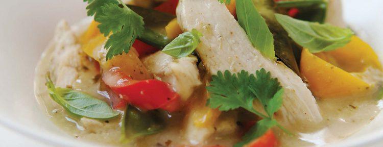 Caloriearme kip kokos curry - Gezond aan tafel - recept