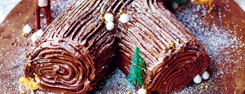 Chocolade boomstam van Jamie Oliver