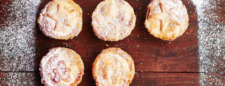 Mince pie's met pompoen van Jamie Oliver