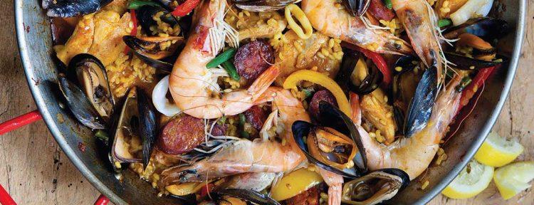 Slanke paella - Gezond aan tafel - recept