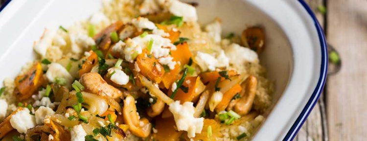 Pompoen couscous - Gezond aan tafel - recept