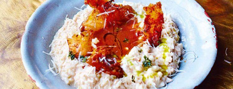 Risotto met kalkoen van Jamie Oliver - Gezond aan tafel - recept