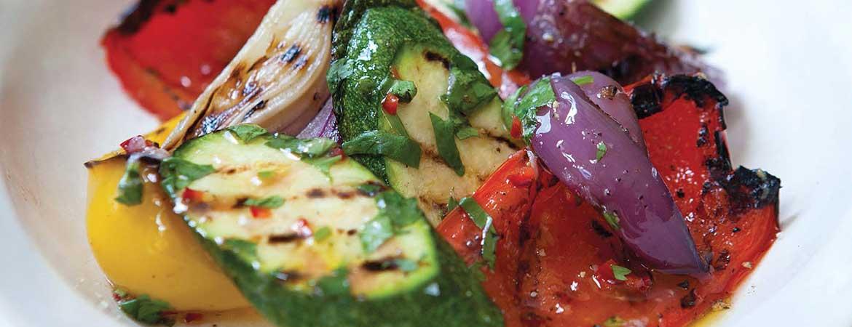 Salade geroosterde groenten