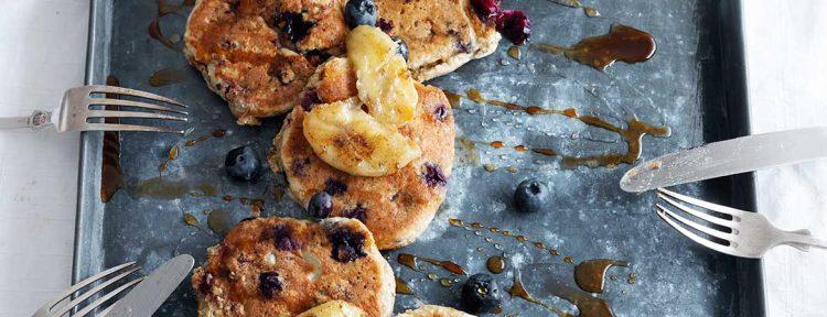 Havermout pannenkoeken - Gezond aan tafel - recept