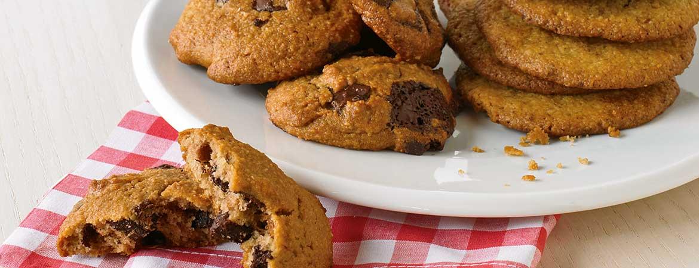 Chocolade pindakaas koekjes (Broodbuik)