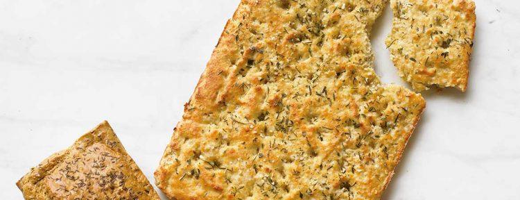 Focaccia broodbuik - Gezond aan tafel - recept