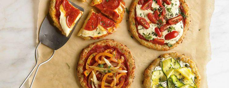 Mini pizza's broodbuik - Gezond aan tafel - recept