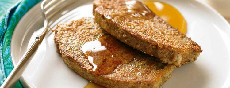 Wentelteefjes (Broodbuik) - Gezond aan tafel - recept
