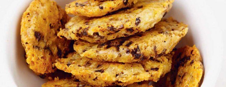 Koekjes met parmezaan en olijven - Gezond aan tafel - recept