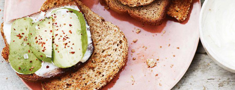 Avocado toast - Gezond aan tafel - recept
