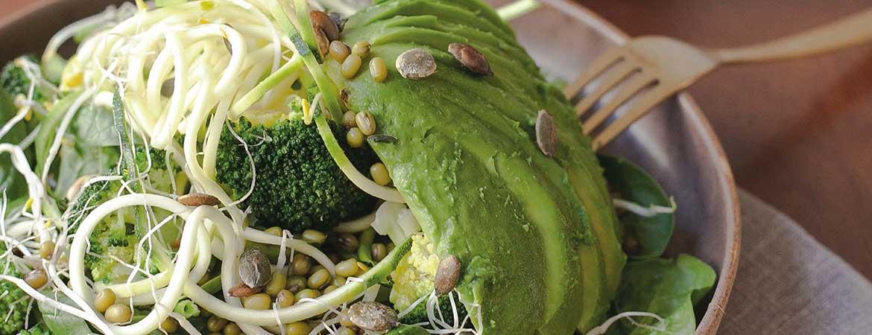 Salade 'vegan greens'
