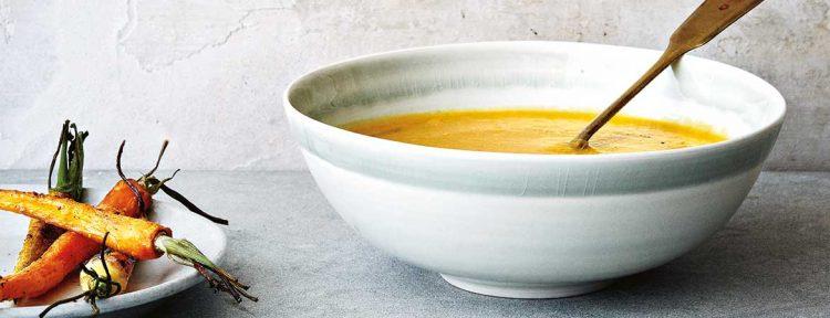 Wortel gember soep - Gezond aan tafel - recept