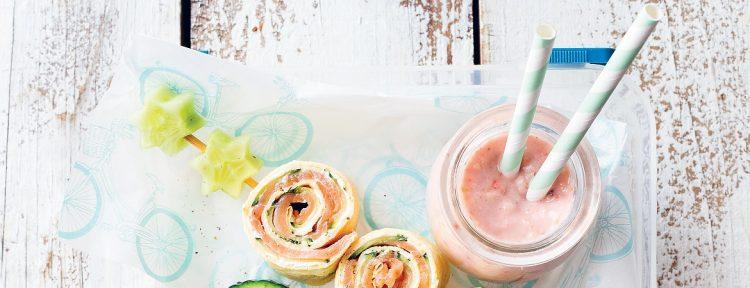 Bananen aardbeien smoothie - Gezond aan tafel - recept