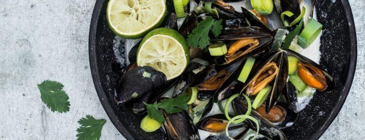 Thaise mosselen (Kim Feenstra en Benine Bijleveld) - Gezond aan tafel - recept