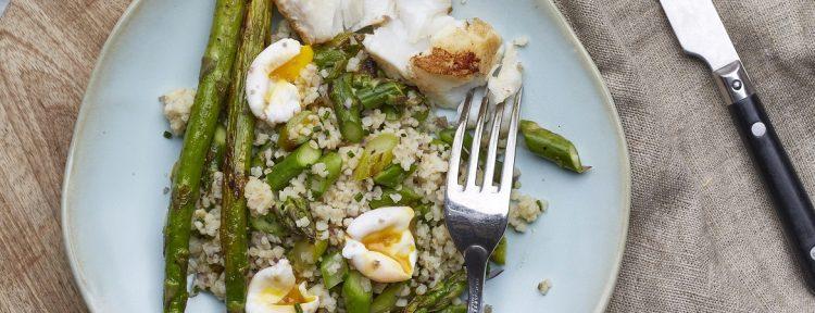 Quinoasalade met groene asperges - Gezond aan tafel - recept
