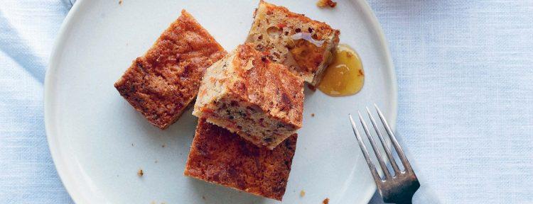 Wortel walnoten cake (Niven Kunz) - Gezond aan tafel - recept