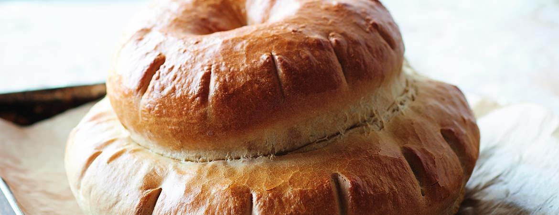 Engels plattelandsbrood met speltmeel (Heel Holland Bakt)