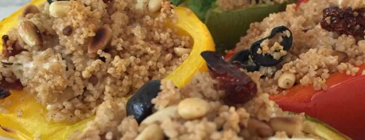 Gevulde paprika met couscous - Gezond aan tafel - recept