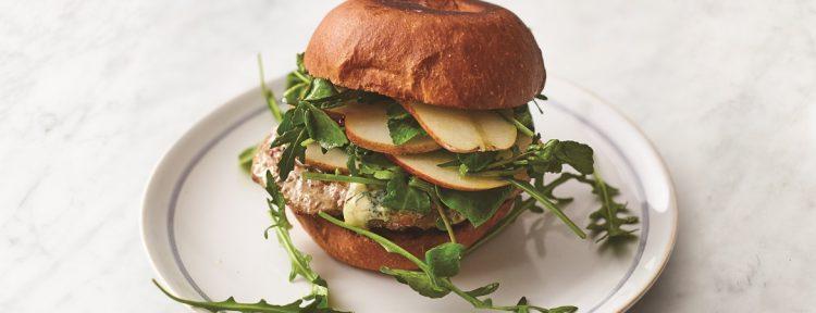 Varkensburger met salade (Jamie Oliver) - Gezond aan tafel - recept