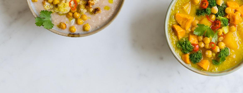 Pompoen- & quinoasoep