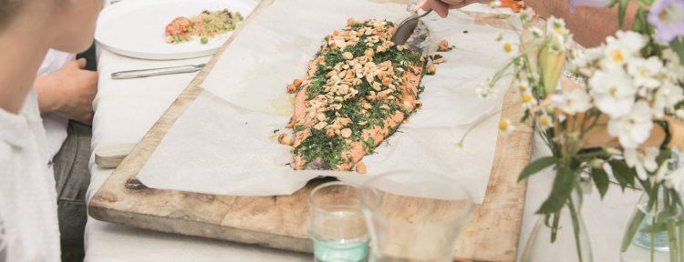 Zalm uit de oven van Vivian Reijs - Gezond aan tafel - recept