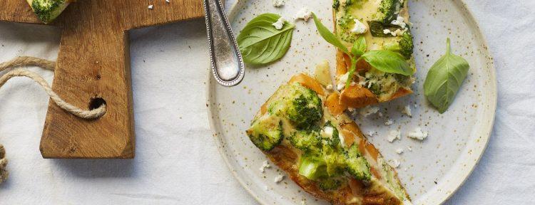 Zoete aardappel frittata van Vivian Reijs - Gezond aan tafel - recept